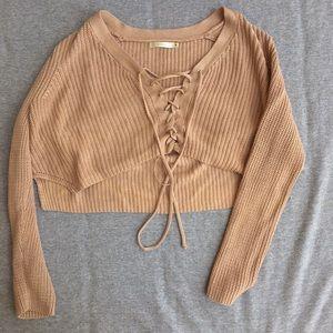 Millau LF cropped sweater